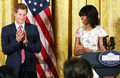 Michelle And Prince Harry - michelle-obama photo