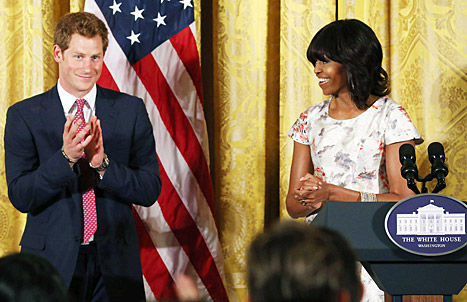 Michelle And Prince Harry