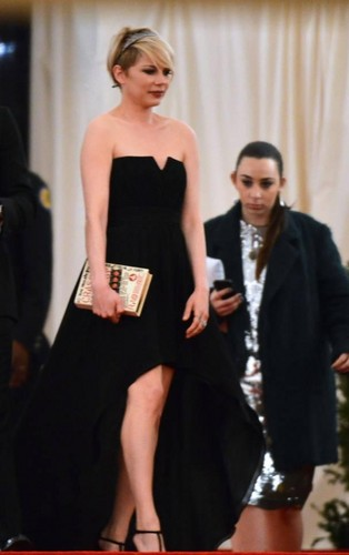"""Michelle Williams at the """"Met Gala"""" - (May 6, 2013)"""