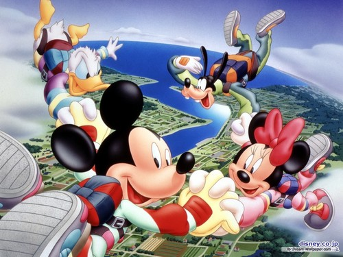 Mickey Mouse wallpaper probably with anime titled Mickey