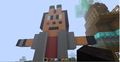 Minecraft statue of MTL - sonic-fan-characters fan art