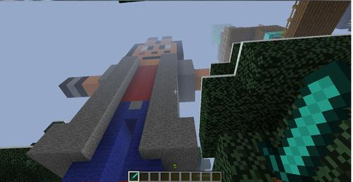 Minecraft statue of MTL