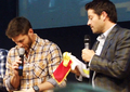 Misha & Jensen - JIB Con 2013 - jensen-ackles-and-misha-collins photo