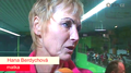 Mother Berdych has nasty, painted eyebrows... - tennis photo