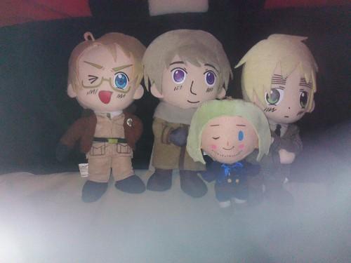 My Hetalia dolls!