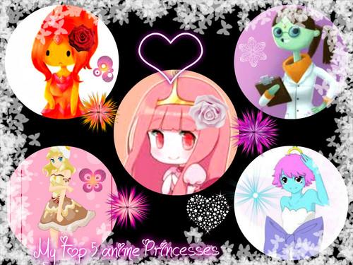 My শীর্ষ 5 জীবন্ত princesses