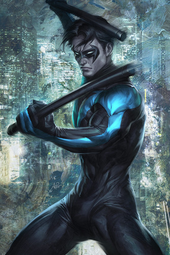 TheOfficialJLA Обои called NIGHTWING!!!!