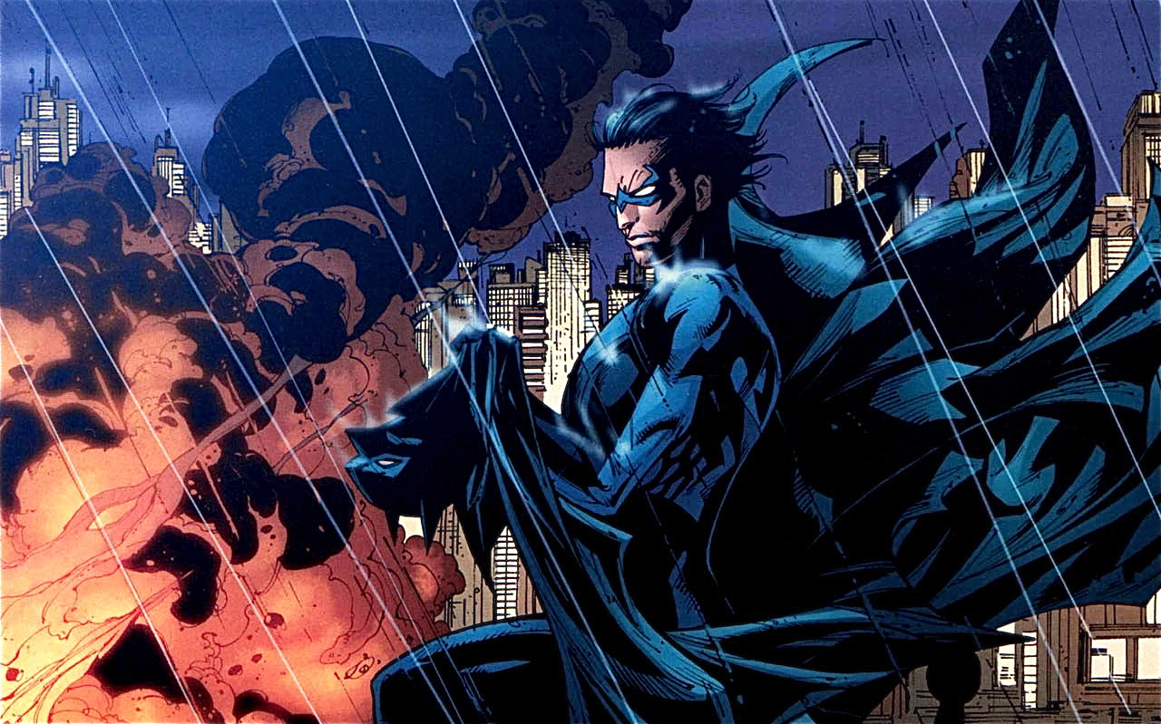 TheOfficialJLA Images NIGHTWING HD Wallpaper And Background Photos