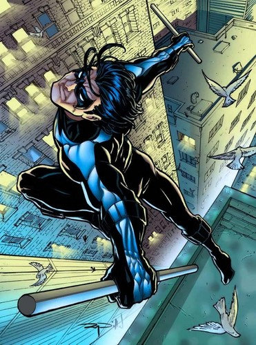 TheOfficialJLA Обои with Аниме called NIGHTWING!!!!