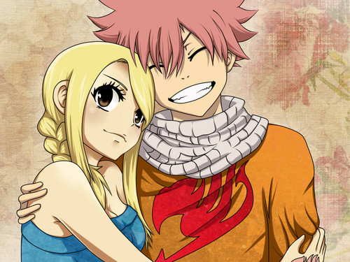 Fairy Tail Обои with Аниме called NaLu