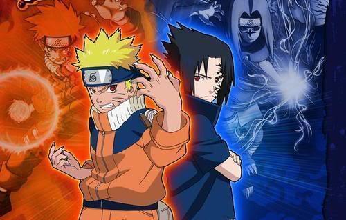 나루토 and Sasuke