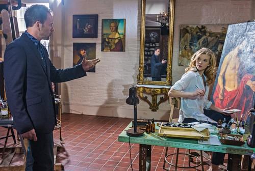 Natalie Dormer as Irene Adler in Elementary (2013)