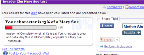 New fc's mary-sue score >:U