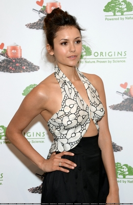 Nina Dobrev Launches The New Origins GinZing Energy-Boosting Moisturizer - May 3