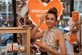 Nina Dobrev Launches The New Origins GinZing Energy-Boosting Moisturizer - May 3 - damon-and-elena photo