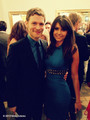 Nina Dobrev and Joseph Morgan at The CW's 2013 Upfront - nina-dobrev photo