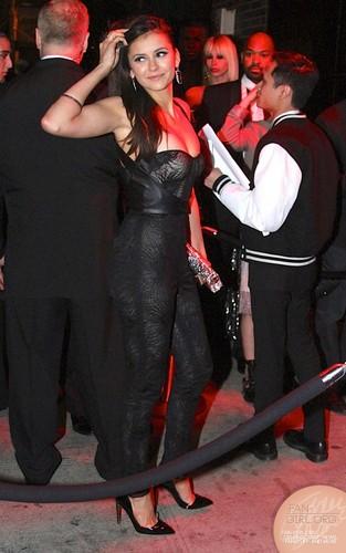 Nina at Met Gala After Party