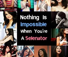 Nothing's impossible when you're a Selenator