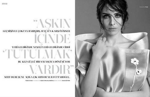 Nur Fettahoglu - Marie Claire May 2013
