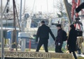 OUAT 2x22 Finale BTS Photos-'Cast On Hook's Ship!' - once-upon-a-time photo