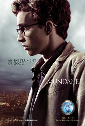 Official City Of Bones - Simon Poster!