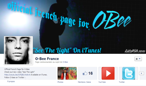 Official French Page for O-Bee