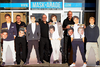 Official One Direction life size cut outs
