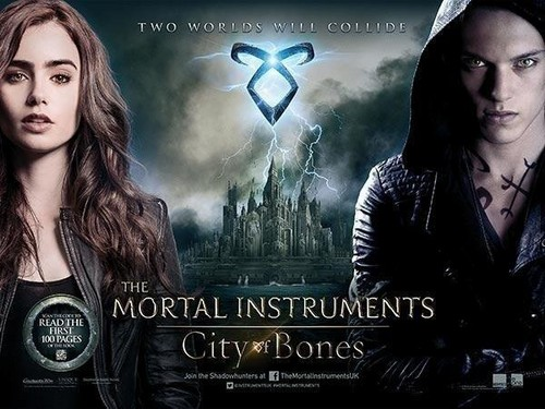Official UK City of bones poster