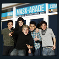 One Direction Masks - one-direction photo