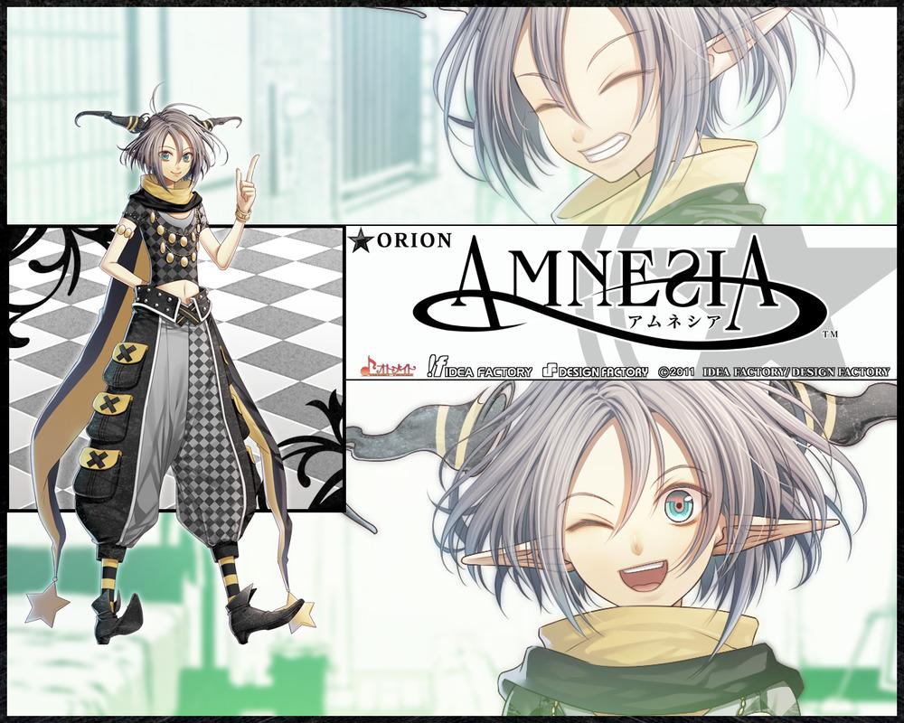 Orion Amnesia アムネシア Wallpaper Fanpop