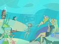 Our Summer's paradise - total-drama-island fan art
