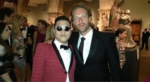 PSY & Chris Martin