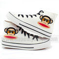 Paul Frank High Top canvas sneakers