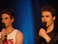 Paul at Bloody Night Con Europe - Brussels (May 2013) - paul-wesley photo