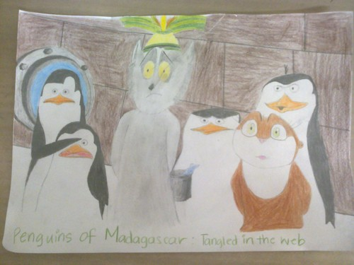 Penguins of Madagascar from टैंगल्ड in the Web
