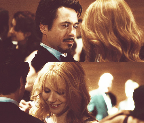 Tony Stark and Pepper ... Robert Downey Jr Facebook