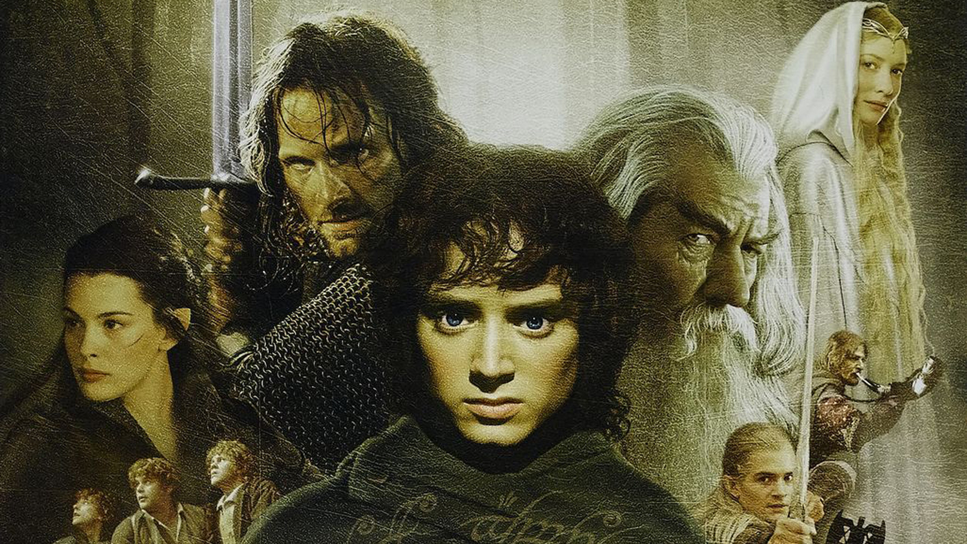Lord of the Rings Fellowship of the Ring Movie
