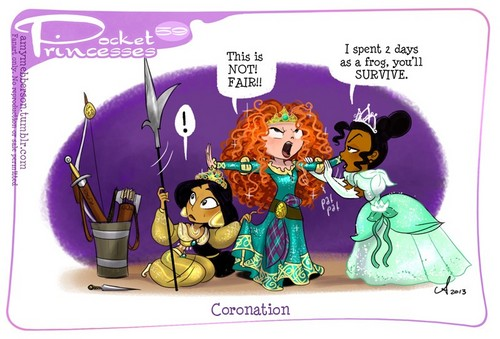 Pocket Princesses 59: Merida's Coronation