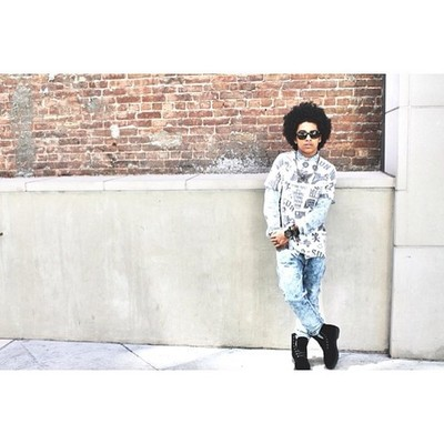 Princeton (Mindless Behavior) wallpaper possibly containing a street called Prince.