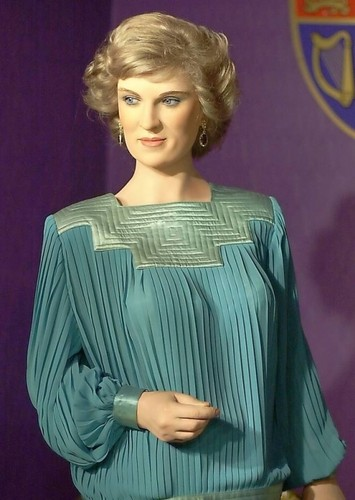 Princess Diana wax figure