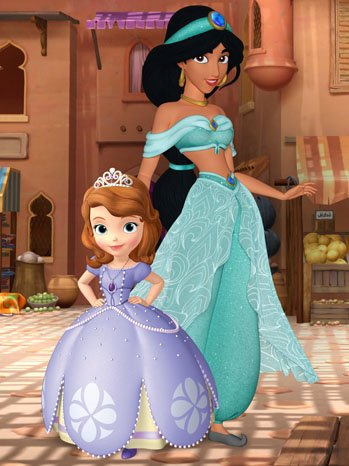 Princess Jasmine on 'Sofia the First'