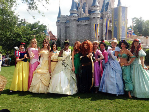 Princess Merida's coronation