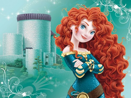 Disney Princess wallpaper entitled Princess Merida