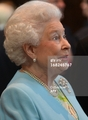 퀸 Elizabeth II at Temple Church in 런던 on May 7, 2013.