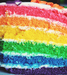 Rainbow cake - food icon