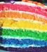 arc en ciel cake