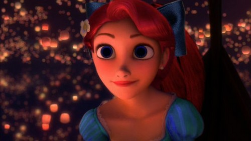 Rapuznel as Ariel