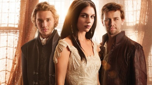 Reign [TV Show] Hintergrund containing a well dressed person and a portrait called Reign
