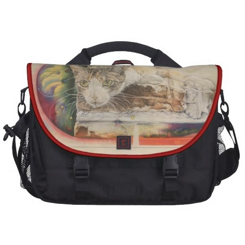 Rickshaw Calico Cat Laptop Bag