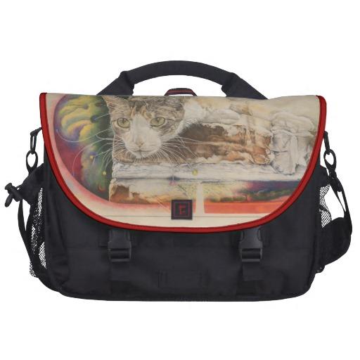 Rickshaw Calico Cat Laptop Bag